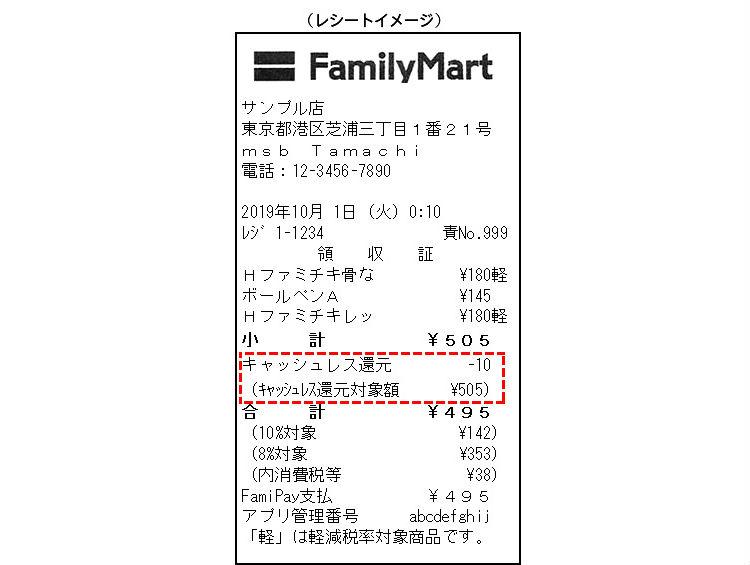 familymart receipt